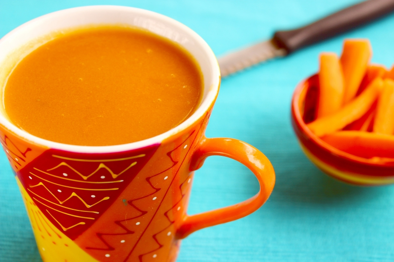 Carrot Apple Smoothie
