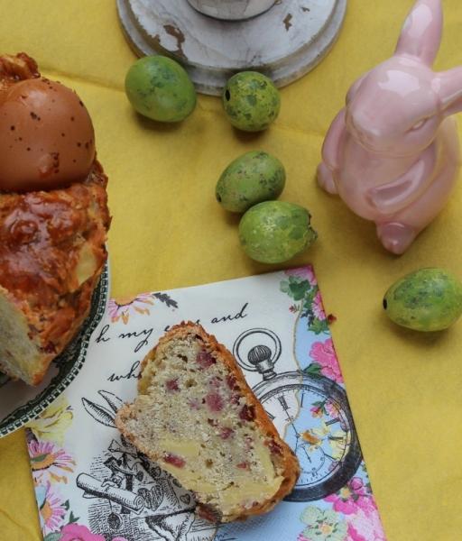 Casatiello Neapolitan, gluten-free