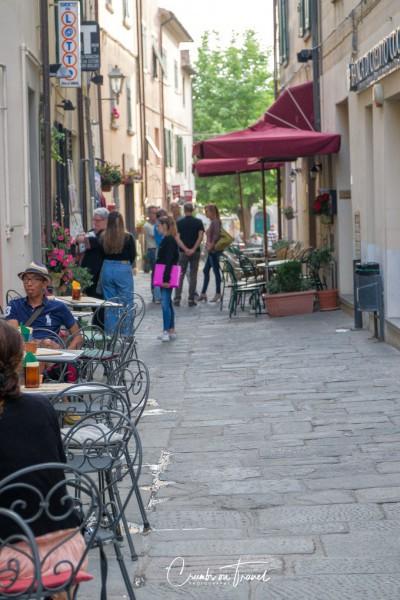 Street view of Castagneto Carducci