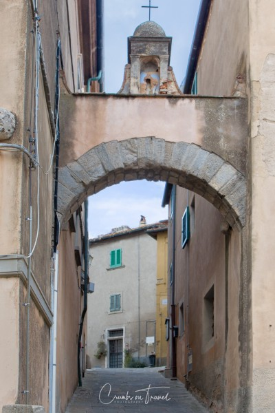 Street view of  Castagneto Carducci