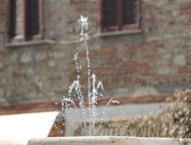 Fontaine in Castiglione sul Lago, Umbria, Italy