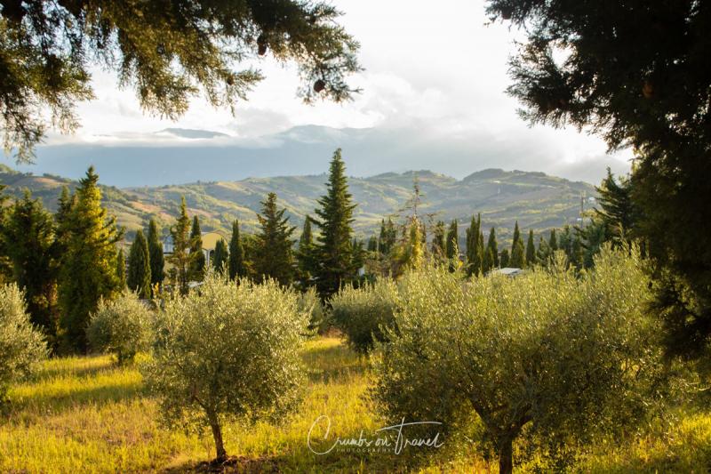 Views from Castilenti in Abruzzo