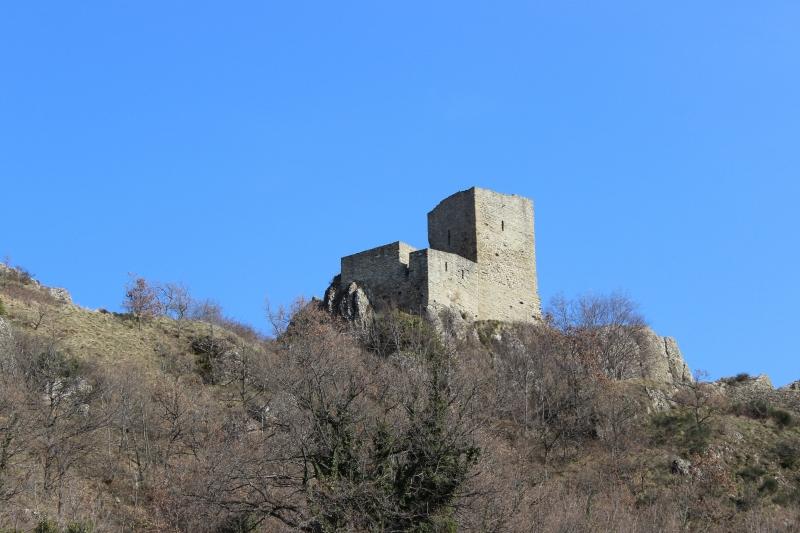 Castle Pietrarubbia, Montefeltro, Le Marche/Italy