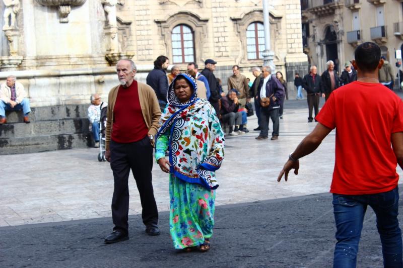 Piazza del Duomo, Catania, Sicily/Italy