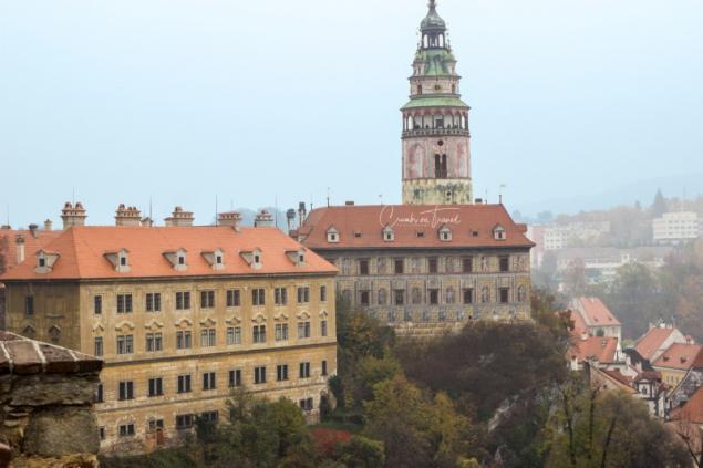 On the Castle of Český Krumlov