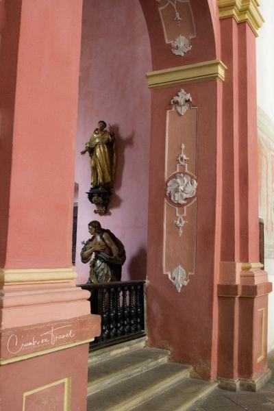 Saint Vitus Church in Český Krumlov