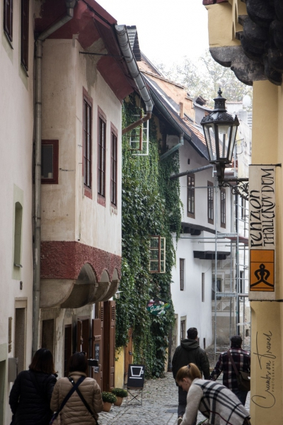 Street of Český Krumlov