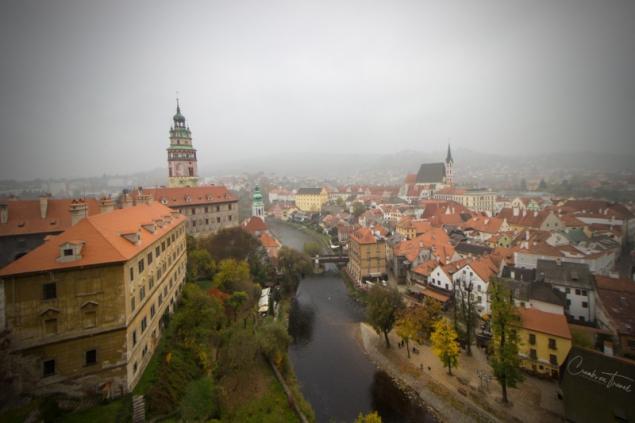 View of Český Krumlov