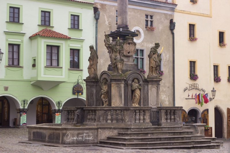 Main square of Český Krumlov