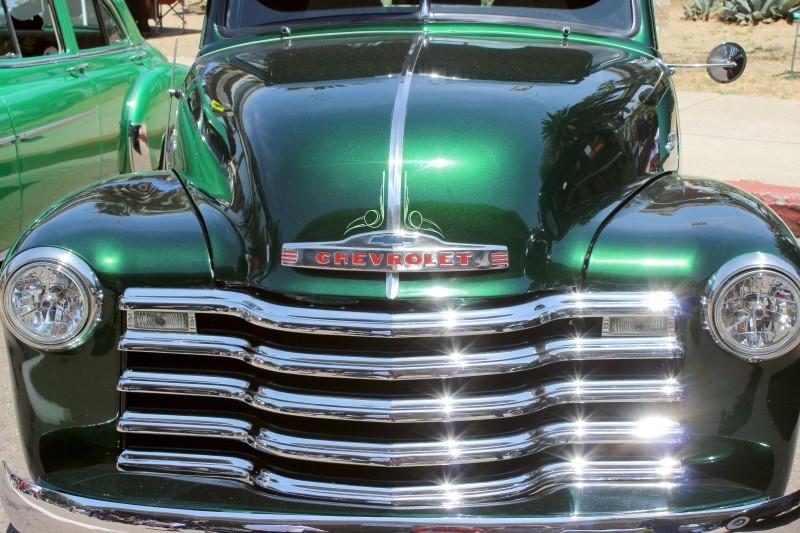 Car seen at the Chicano Festival, Amigos Car Club, Chicano Park, San Diego, California/USA