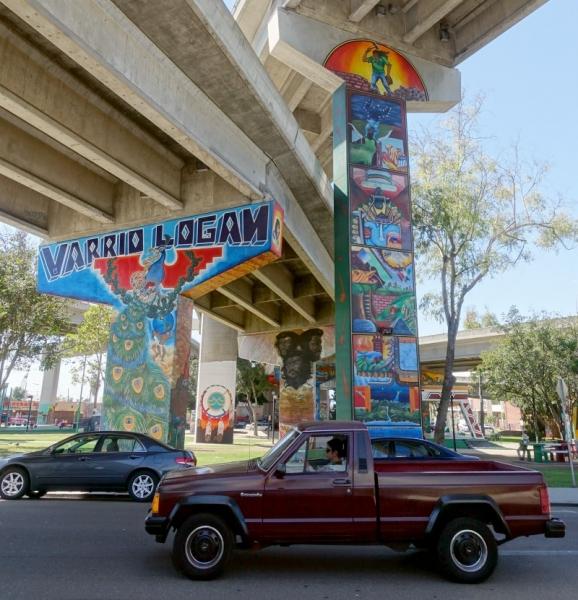Chicano Park, San Diego, California/USA