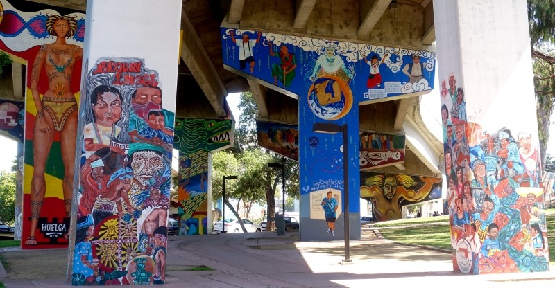 Chicano Park, San Diego, California/USA