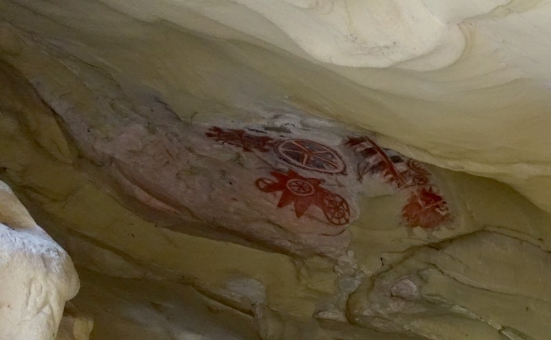 Chumash Painted Cave, Santa Barbara, California/USA