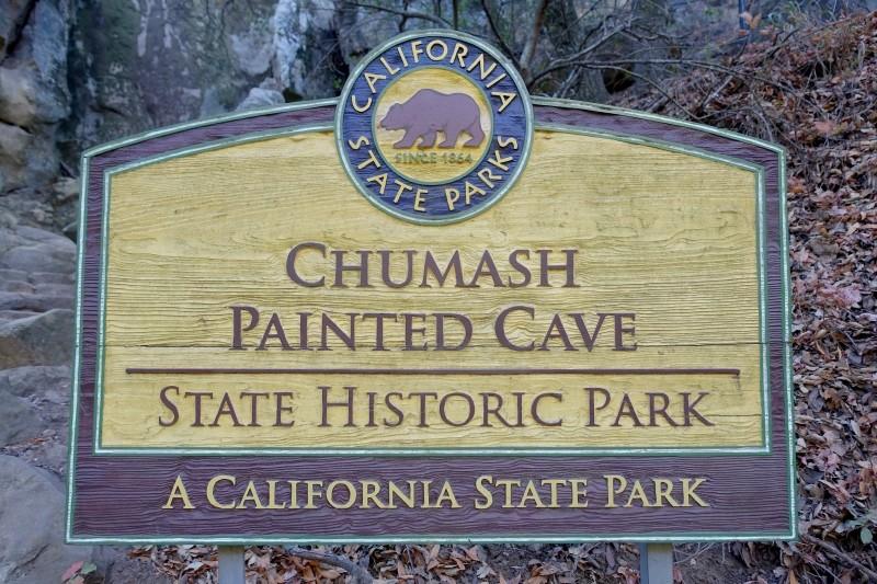 Chumash Painted Cave, Santa Barbara, California/USA