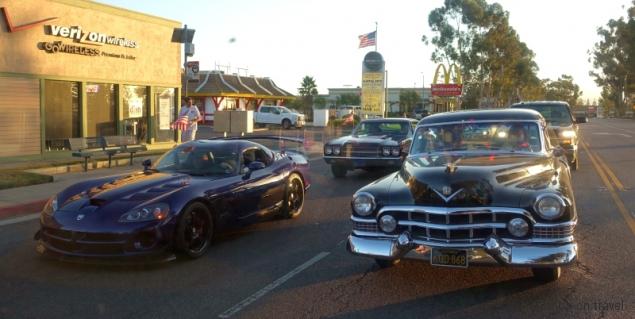 Classic car show Ramona, California/USA