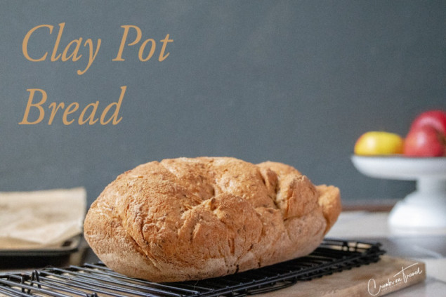 Bread in Clay Pot