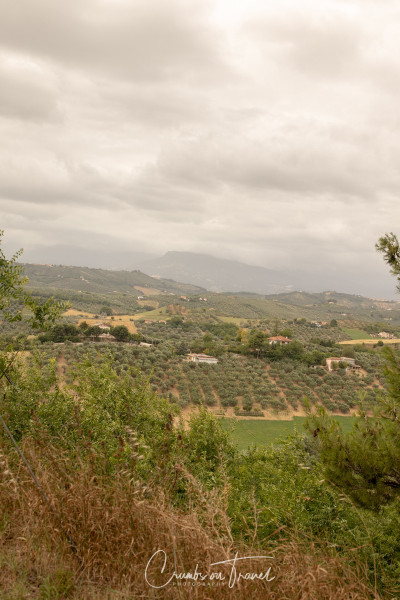 Collecorvino near to Pescara in Abruzzo