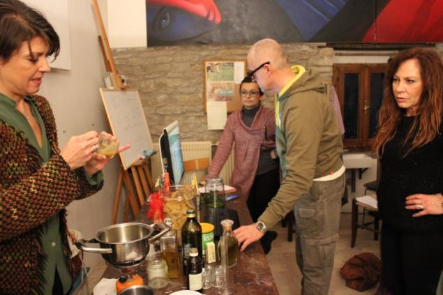 Workshop at b&b Valdericarte, Le Marche/Italy