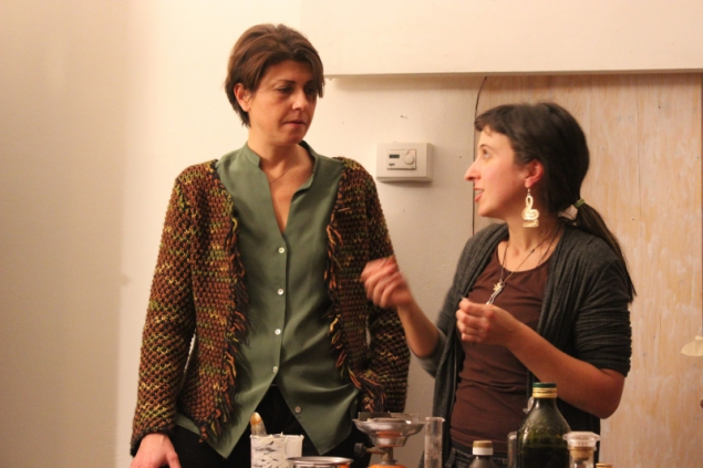 Sara Falchetto and Maria Stella Rossi