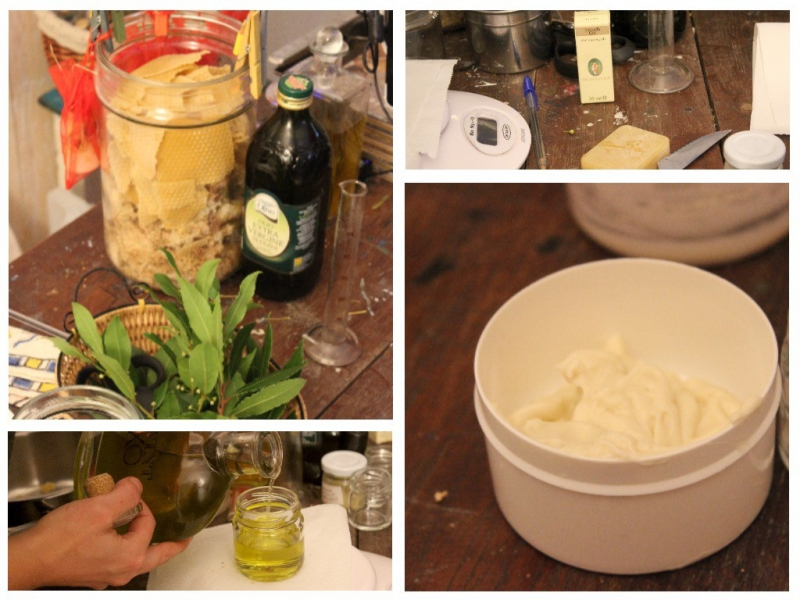 Natural cosmetic at b&b Valdericarte, Le Marche/Italy