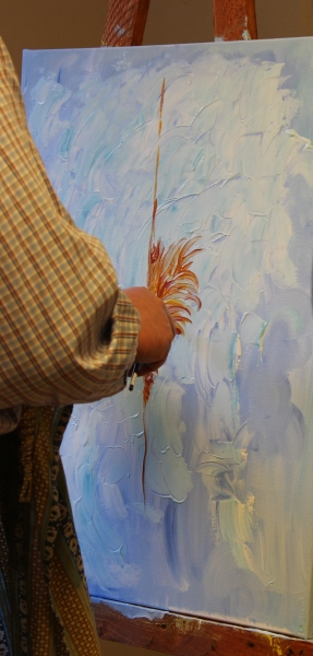 Painting with Petra Krabbemeyer, Creart