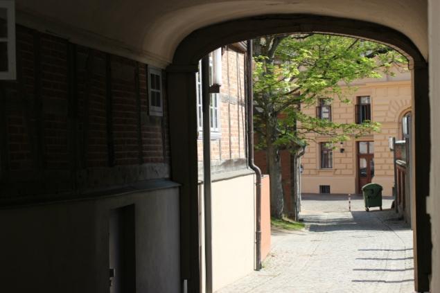 Passage in Schwerin, Germany