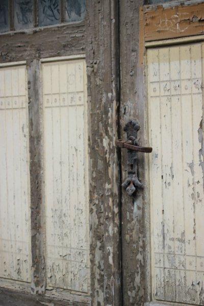 Old door in Schwerin, Germany