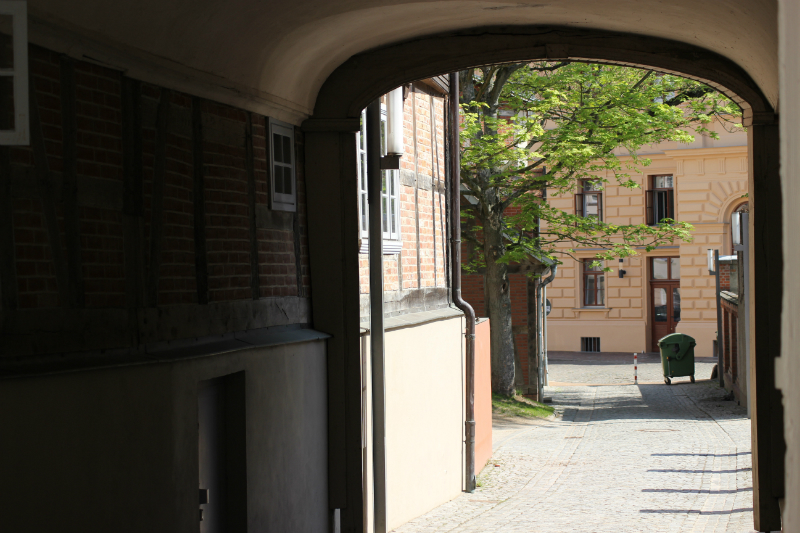 Passage in Schwerin, Germany