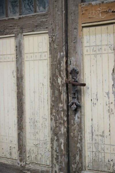 Old door in Schwerin, Germany
