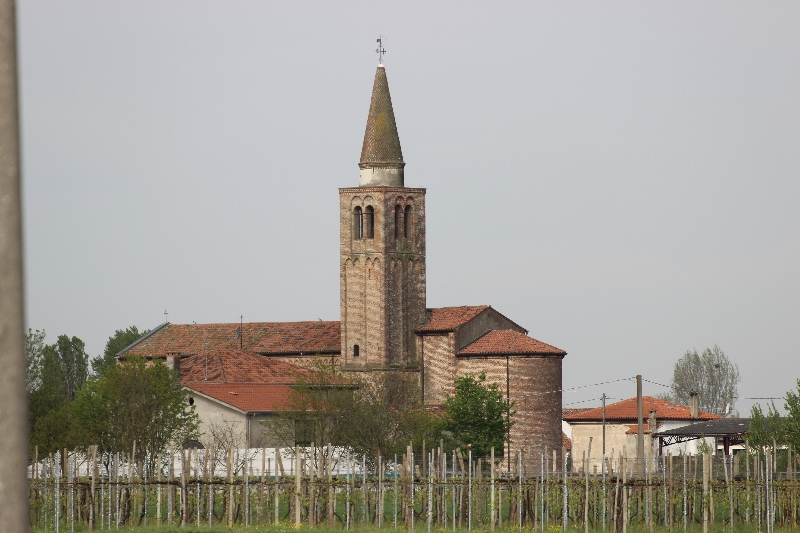 Church at Olmo, Emilia Romagna, Italy