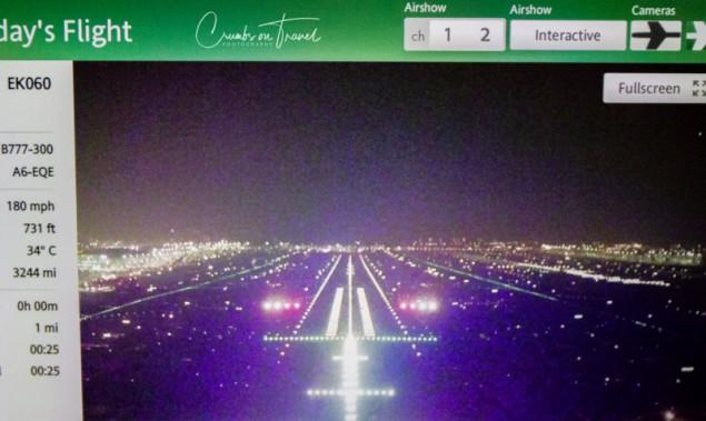 Landing, Impressions of Dubai