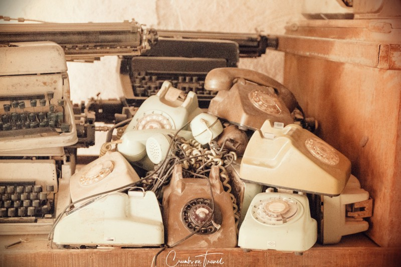 Old telephones, Impressions of Dubai