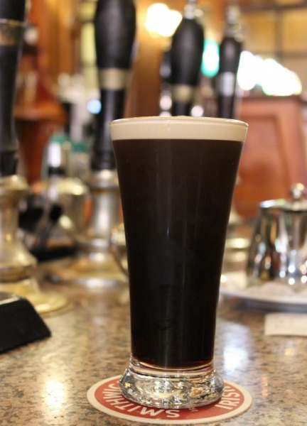 A glass of Guinness, Dublin/Ireland