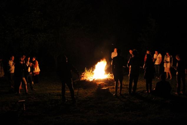 Bonfire, Erbe delle Streghe, 24th June, Val d'Erica