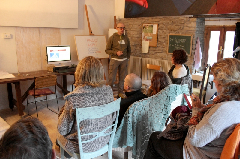 Paleo workshop with Fabio Piccini at b&b ValdericArte, Le Marche/Italy