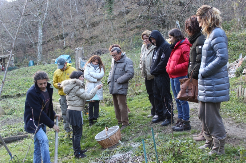 Paleo workshop at b&b ValdericArte, Le Marche/Italy