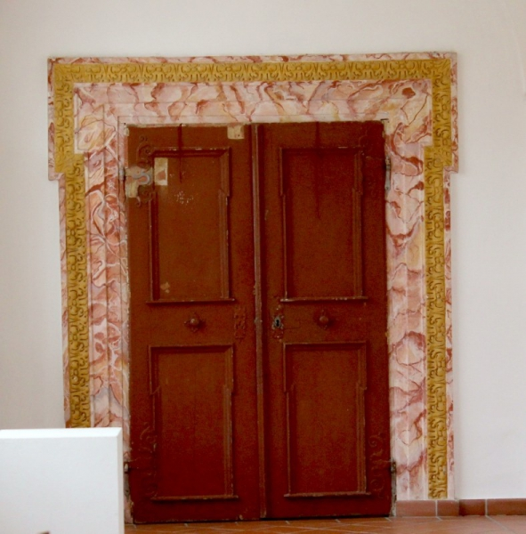 Door at Castle Farrach, Styria/Austria