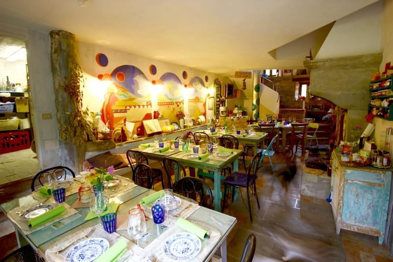 Home restaurant ValdericArte, Le Marche/Italy
