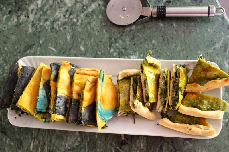 Bread, celebration of colors, b&b Valdericarte, Le Marche/Italy