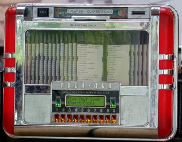 Jukebox of the fifties, California, USA