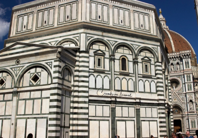 Baptistery in Florence, Tuscany/Italy