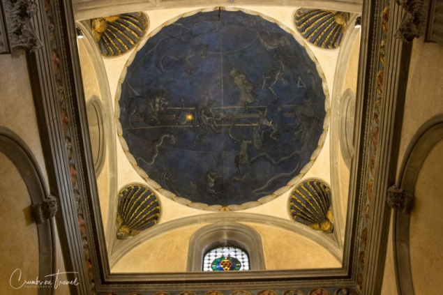 Inside the Basilica San Lorenzo in Florence, Tuscany/Italy