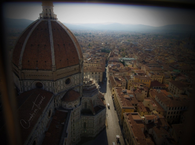 View from the bell tower of Florence, Tuscany/Italy