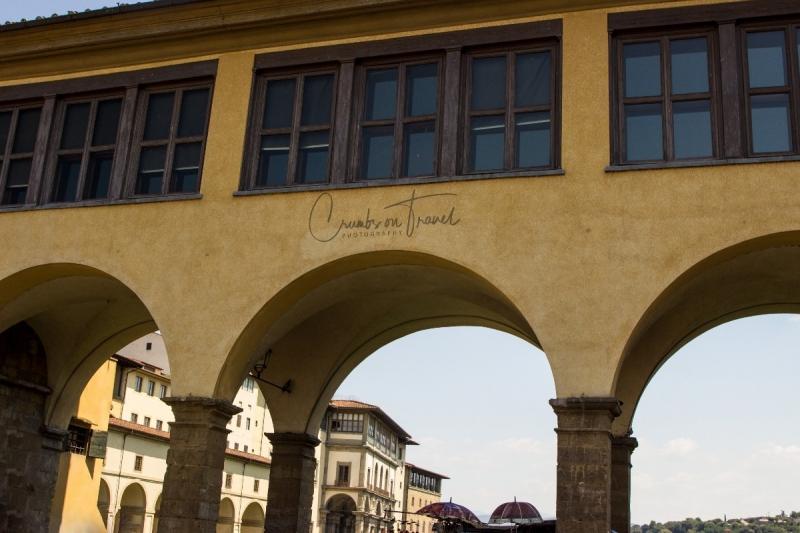 Vasari Corridor, Ponte Vecchio, Florence, Tuscany/Italy