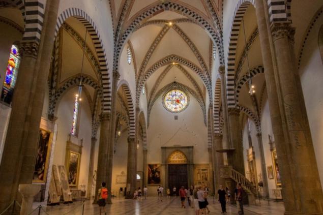 Cathedral Santa Maria Novella of Florence, Tuscany/Italy