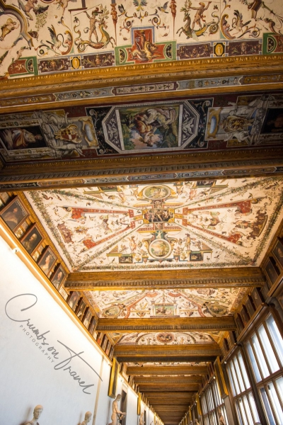 In the Uffizi of Florence, Tuscany/Italy