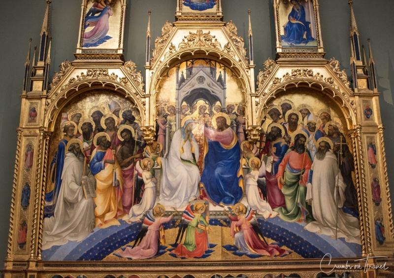 In the Uffizi of Florence, Tuscany/Italy