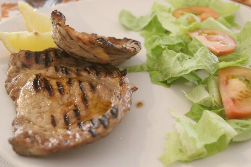 Scaloppina al limone – pork with lemon
