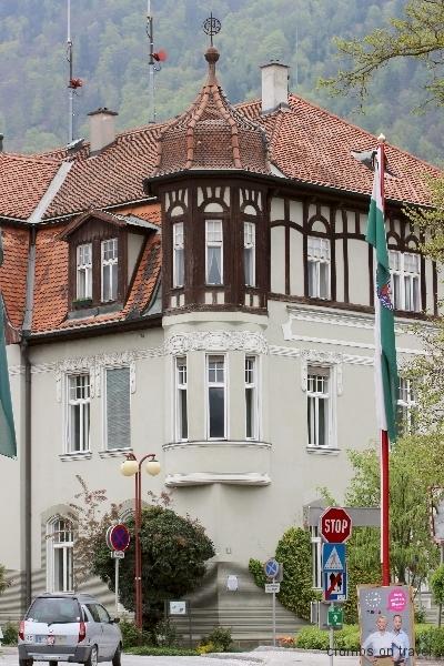 Town hall in Frohnleiten, Styria, Austria