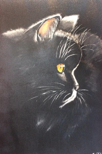 Gallery Eigenartig, painting of Saskia Stender